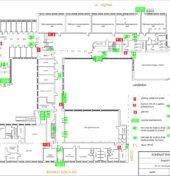 Plan ewakuacyjny budynku