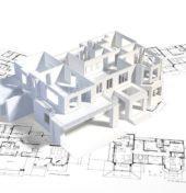 schemat budynku na mapie jako metafora przygotowania budynku do odbioru ppoż