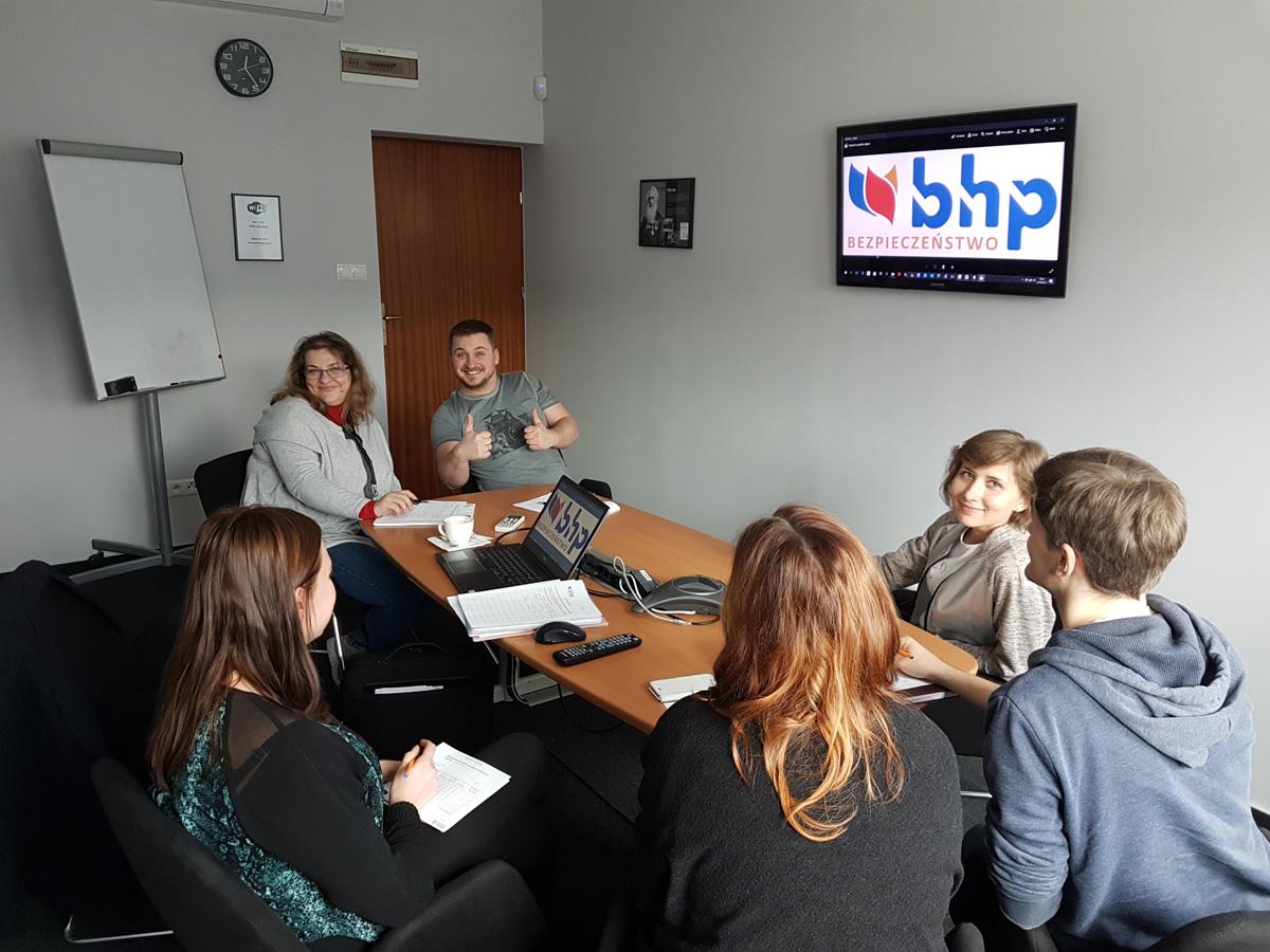 Szkolenie BHP dla pracowników restauracji w Warszawie